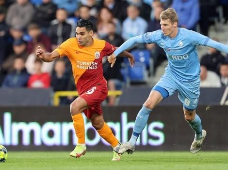 Fin a los rumores: Falcao suma 14 minutos con Galatasaray en la Europa League