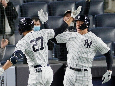 ¡Inspirados! Los New York Yankees llegaron a siete victorias en fila