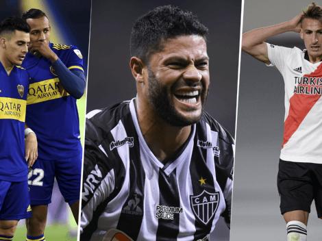 Usted es diabólico, Galo: Atlético Mineiro se burló de Boca y River en Instagram