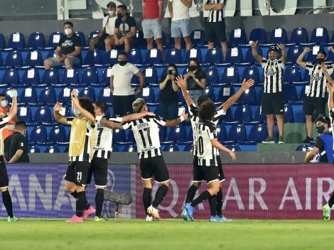 Marcelo Díaz y Libertad se instalaron en semifinales de Copa Sudamericana