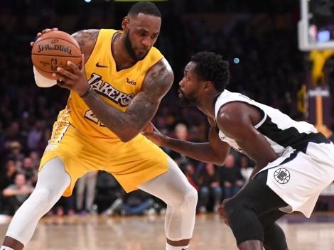 """LeBron James quiere al """"enemigo"""" de su amigo Chris Paul en Los Angeles Lakers"""