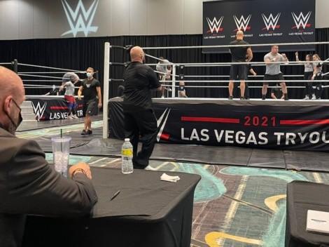 Así empieza el largo camino para ser una estrella de WWE