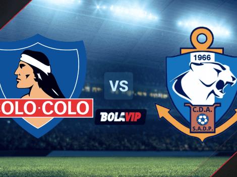 Qué canal transmite Colo Colo vs. Deportes Antofagasta por el Campeonato PlanVital