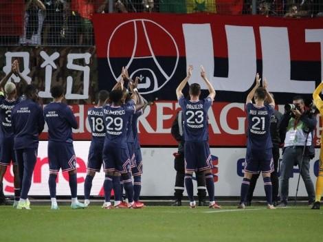 Noche de golazos de PSG ante Brest: Herrera, Mbappé, Gana y Di María ¡On fire!
