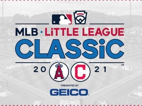VER HOY el 2021 MLB Little League Classic EN VIVO ONLINE   Los Angeles Angels vs. Cleveland Indians: Pronóstico, horario y canal de TV para ver EN DIRECTO
