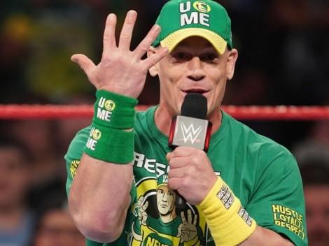 La impresionante marca que John Cena quiere establecer en WWE