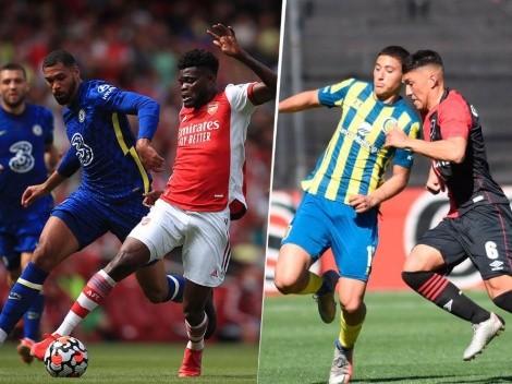 Programación de los mejores partidos del fin de semana en el fútbol internacional