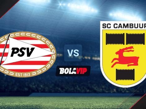 Qué canal transmite PSV vs. Cambuur EN VIVO por la Eredivisie | ¿Juega Erick Gutiérrez? | Hora y canal de TV