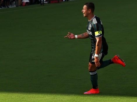 """Chicharito podría no volver a jugar en El Tráfico por """"culpa"""" de Zlatan Ibrahimovic"""
