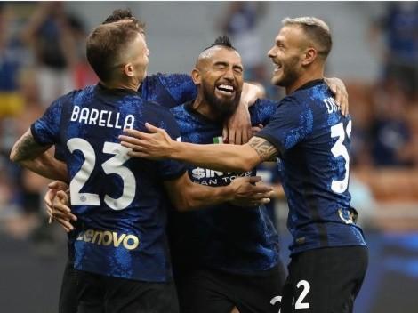 Arturo Vidal se anota en el contundente inicio de Inter ante Genoa