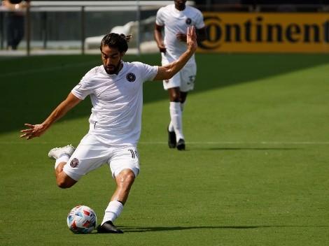 Bello gol de Rodolfo Pizarro en la MLS a pase del Pipita Higuaín