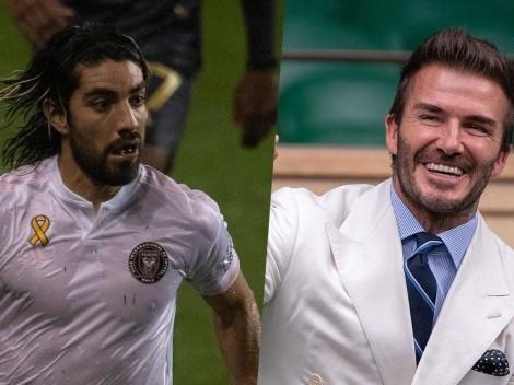 Así reaccionó David Beckham al golazo de Rodolfo Pizarro