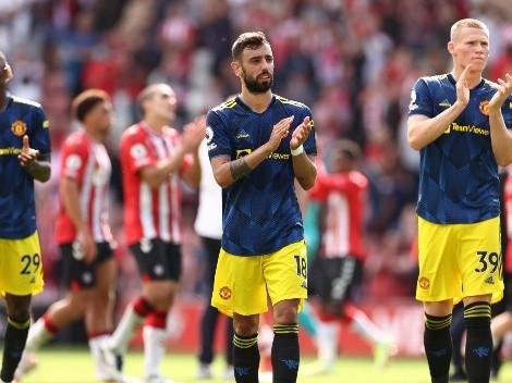 Amargo empate para Manchester United en su visita a Southampton