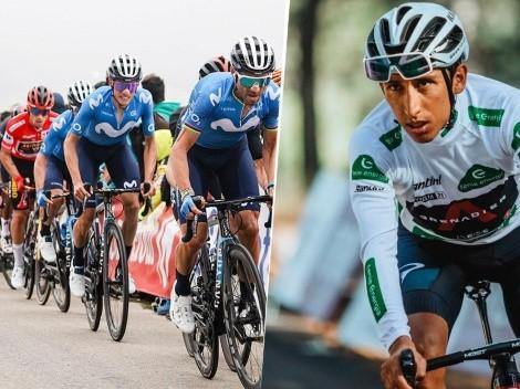 Empezamos a sufrir: la etapa 9 de La Vuelta liquidó a Superman López y Egan Bernal