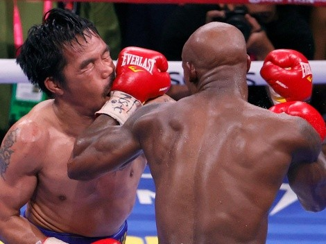 Yordenis Ugas le ofreció la revancha a Manny Pacquiao
