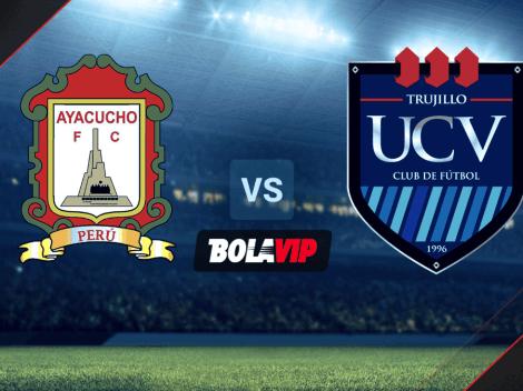 EN VIVO: Ayacucho vs. César Vallejo por la Liga 1