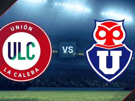 VER HOY   Unión La Calera vs. Universidad de Chile EN VIVO por la Primera División de Chile: fecha, horario y canal de TV ONLINE