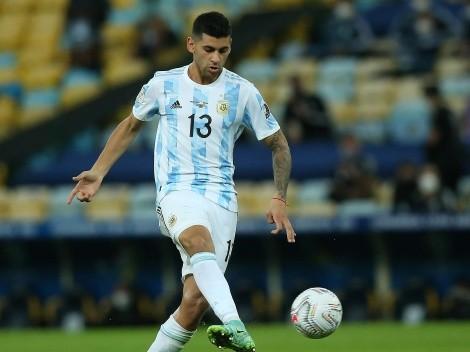 Atento, Scaloni: Cuti Romero no jugó en Tottenham por una molestia