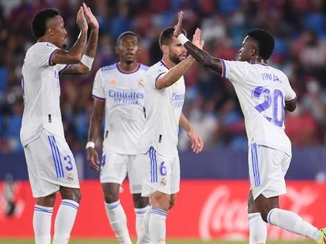El Real Madrid no pudo con el Levante y rescató un agónico empate 3 a 3