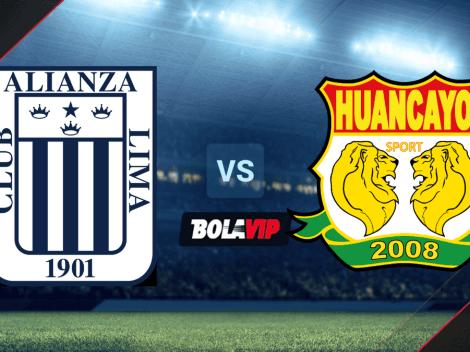 EN VIVO: Alianza Lima vs. Sport Huancayo por la Liga 1