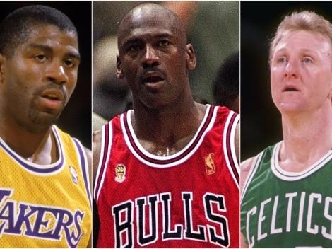 El único jugador que dominó al mejor Magic, Jordan y Bird