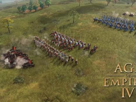 Age of Empires nos da un primer vistazo a dos armas para AoE 4