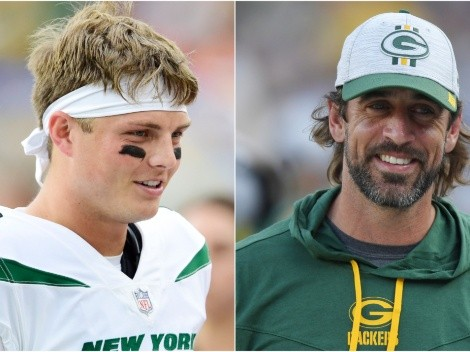 NY Jets rookie QB Zach Wilson receives praise from Aaron Rodgers
