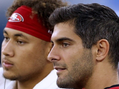 La pelea por el puesto de mariscal titular de 49ers entre Jimmy Garoppolo y Trey Lance