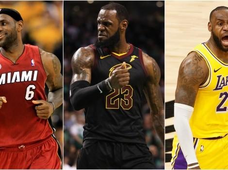 Las únicas franquicias de la NBA que han ganado más partidos de Playoffs que LeBron James