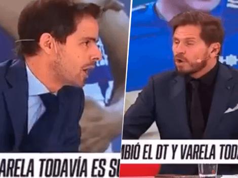 """Closs pinchó a Vignolo para que revele por qué no juega Varela: """"No te hagas el pícaro"""""""