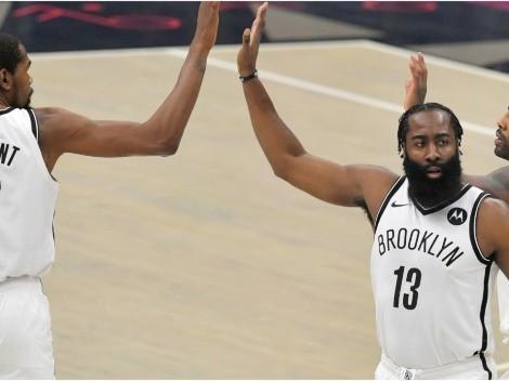 ¿Podrán? El número de victorias que le dan a Durant, Irving y Harden en la NBA 21-22