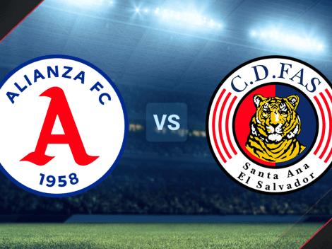 VER HOY | Alianza vs. CD FAS EN VIVO ONLINE: Pronóstico, horario y canal de TV para ver EN DIRECTO la Primera División de El Salvador