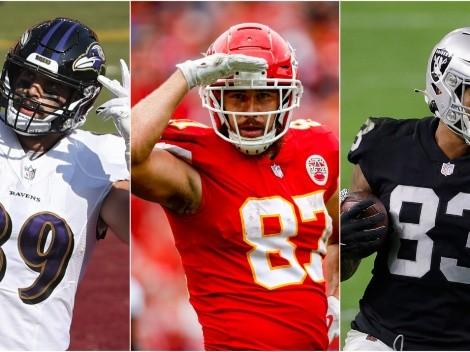 NFL Fantasy 2021: Los 5 mejores alas cerradas para la temporada