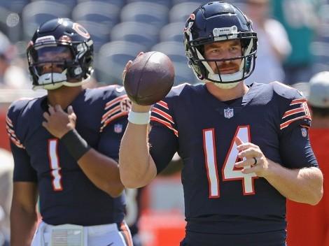 ¿Justin Fields o Andy Dalton? Se define el puesto de QB titular en Chicago Bears