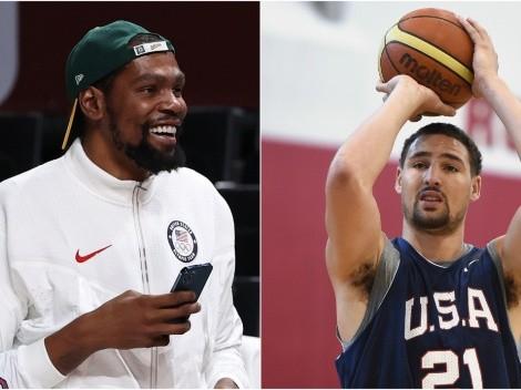 La reacción de Durant al video de Klay Thompson que explotó Twitter