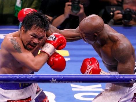 Manny Pacquiao confesó que sus piernas dejaron de funcionar