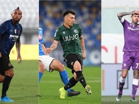 Serie A también impide que Vidal, Medel y Pulgar estén con la Roja