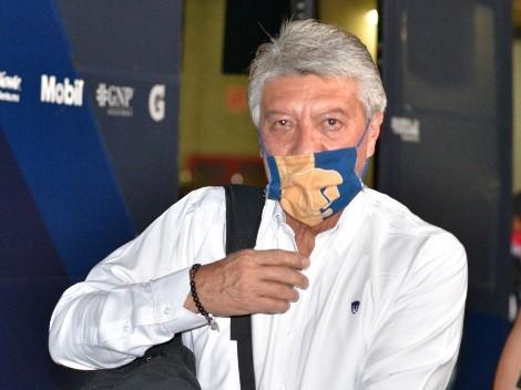 Chucho Ramírez renunció como presidente de Pumas UNAM