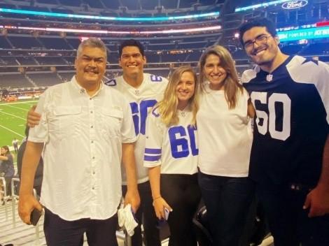 VIDEO: La euforia de la mamá de Isaac Alarcón cautiva a la NFL