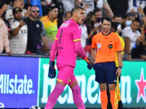 Nahuel Guzmán terminó muy enojado por la derrota de la Liga MX en el Juego de las Estrellas