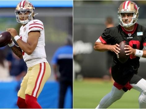 49ers juega al misterio para definir su mariscal de campo para NFL 2021
