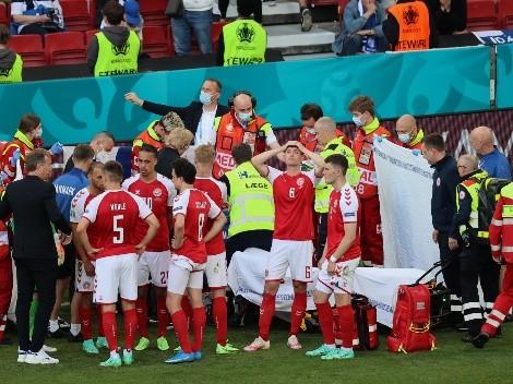 La UEFA premió a Kjaer y al equipo médico de Dinamarca