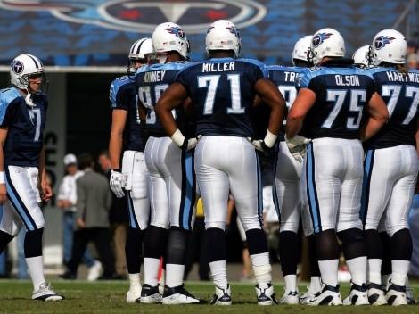 Tennessee Titans con nueve contagiados por un brote de COVID-19