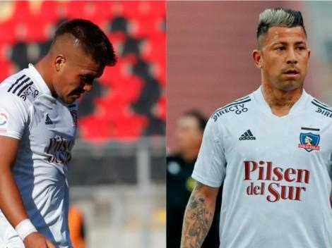 Parraguez y Valencia molestos por la poca consideración en Colo Colo