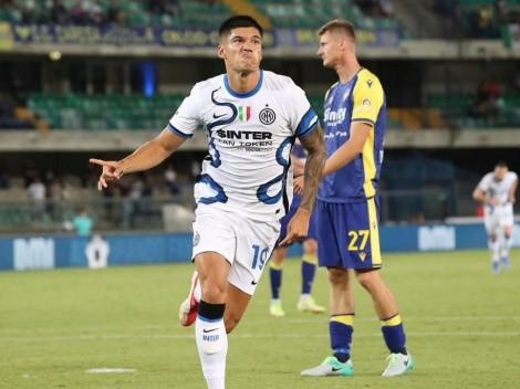 Con goles de Lautaro y Correa, Inter se lo dio vuelta a Verona y es líder