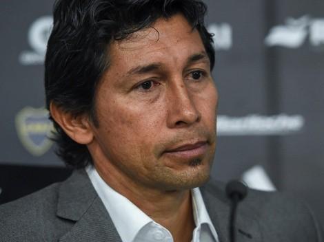 Bermúdez explicó el motivo por el que Varela no jugaba en Boca