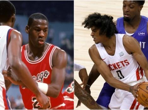 El novato de la NBA que comparan con Michael Jordan