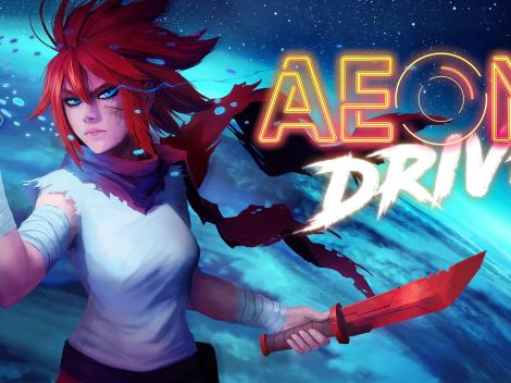 Jogo de plataforma Aeon Drive é anunciado na Gamescom 2021