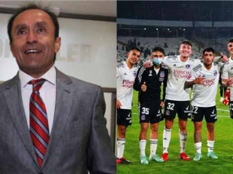 Jaime Pizarro celebra a Vicente y minutos de la patrulla juvenil alba
