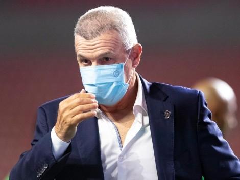 Javier Aguirre se fue muy enojado por otro empate de Monterrey
